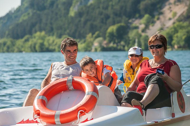 Haut bugey lac nantua